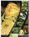 "STAR WARS John Coppinger ""Jabba the Hutt"" 10""x 8"" genuine signed autograph COA  11467"